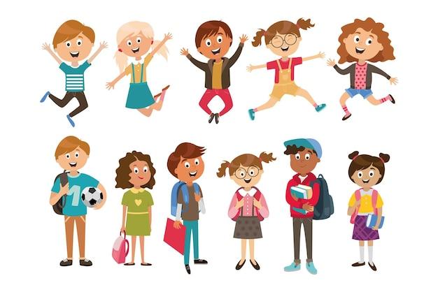 Детские персонажи людей