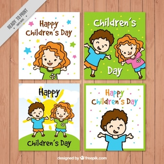 Children's day cards collection