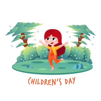 Children's day character
