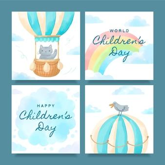 Post instagram per la giornata dei bambini