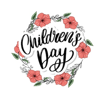 Children's day wreath