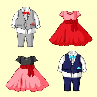 Children's party clothes