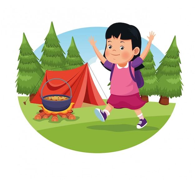 Children on school field trip
