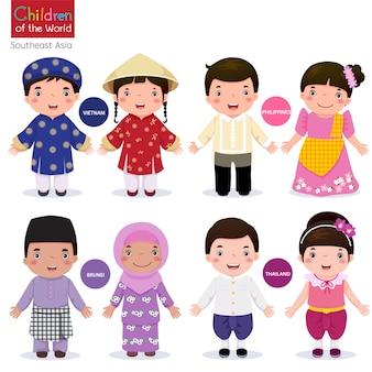 Children of the world-vietnam-philippines-brunei-thailand