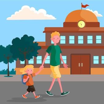 Childrens back to school