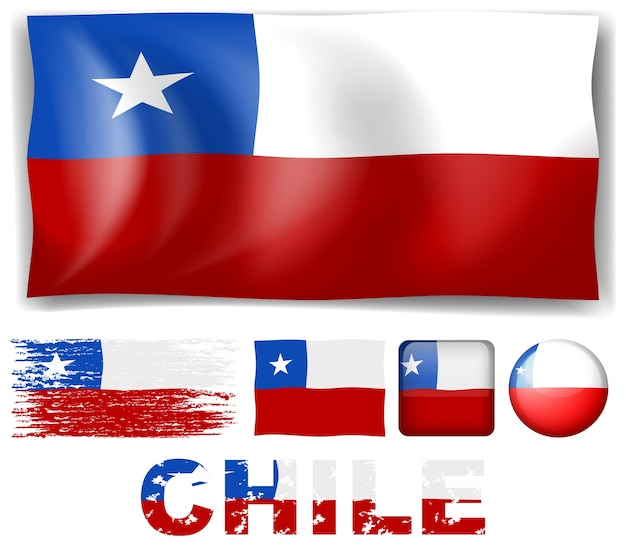 Chile illustration