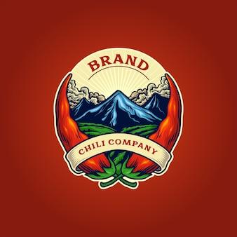 Логотип компании перец чили