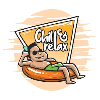 Chill and relax on summer