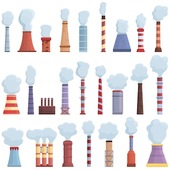 Chimney icon. cartoon of chimney vector icon for web design isolated on white background