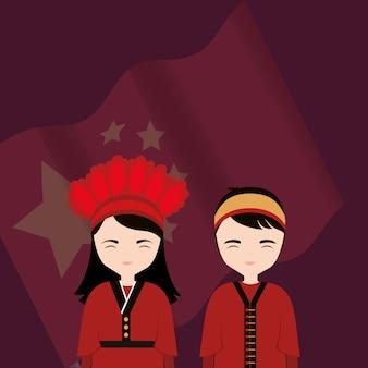 中国文化のデザイン