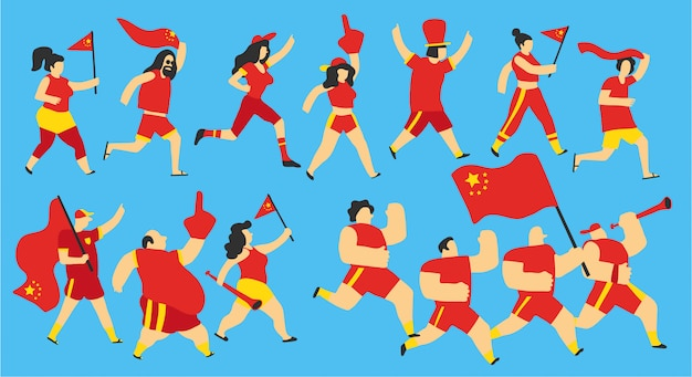 China national team fans