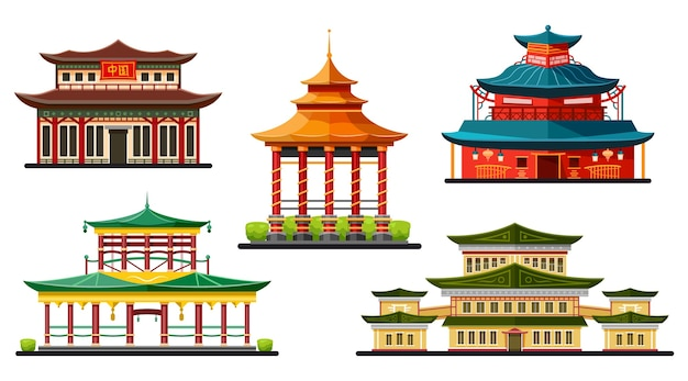 Chinese buildings and traditional architecture