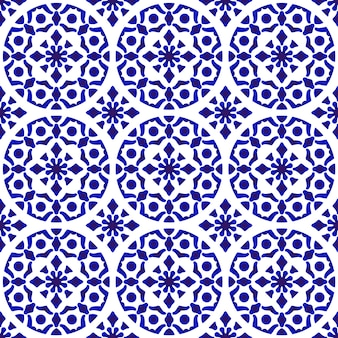 Chinese ceramic background, blue and white pottery backdrop modern design