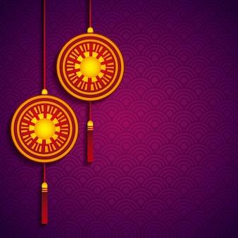 중국 장식 매달려