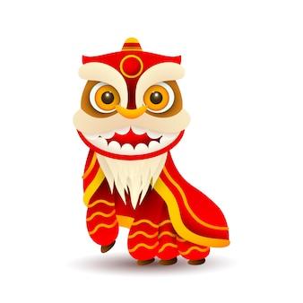 中国のドラゴンの衣装