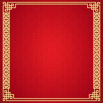 Chinese frame background.