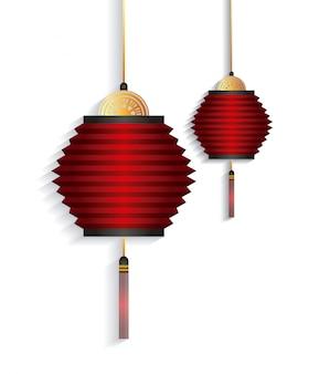 중국 등불 장식