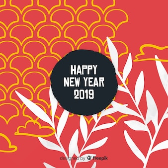 Chinese new year 2019 background