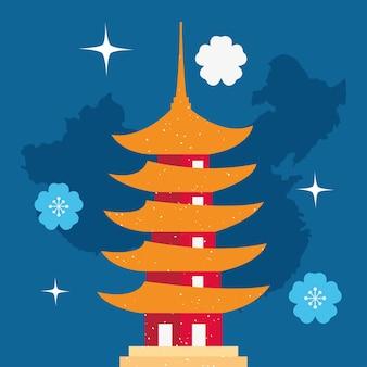 중국 탑 디자인