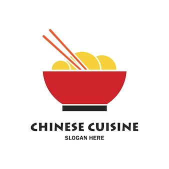 Chinese restaurant logo and emblem