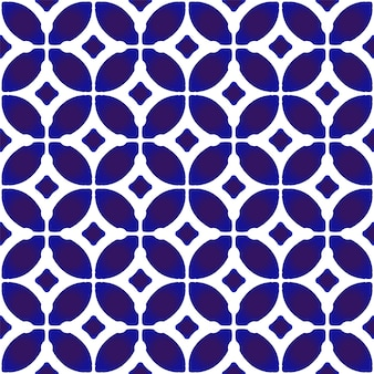 Chinese seamless pattern blue and white