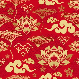 Chinese seamless pattern .
