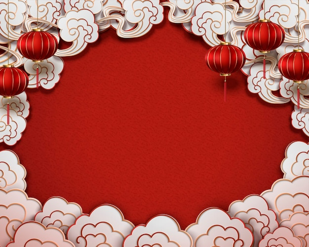 Chinese traditional style background