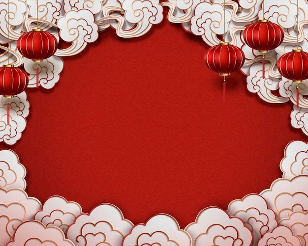 中国の伝統的なスタイルの背景