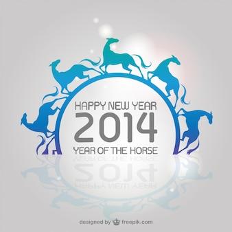 Chinese zodiac horse background