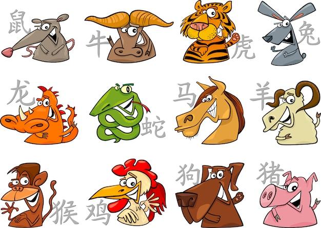 Знаки китайского зодиака