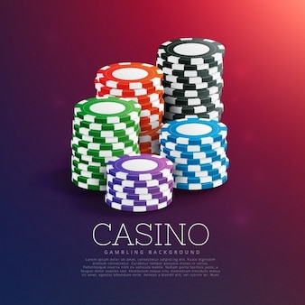 Chips casino background