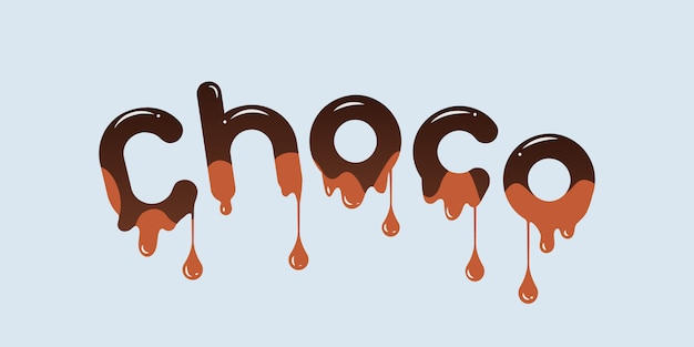 Choco text