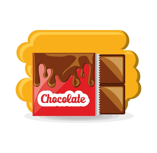 초콜릿 바 아이콘