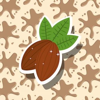 Шоколадная какао карта