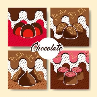 Chocolate cocoa card