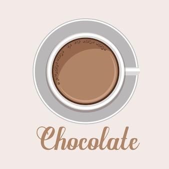 Chocolate design, vector illustration