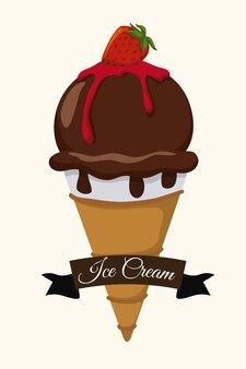 Chocolate design.