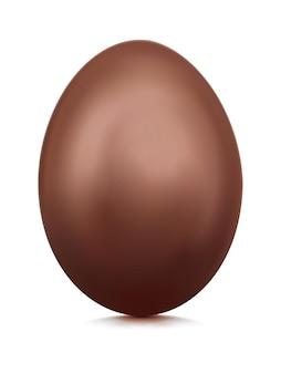 チョコレートの卵のイラスト