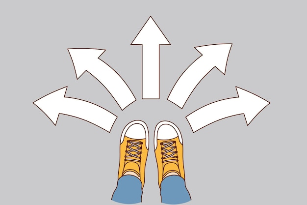 Choice and decision concept