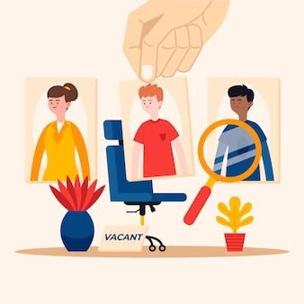 労働者の概念の選択