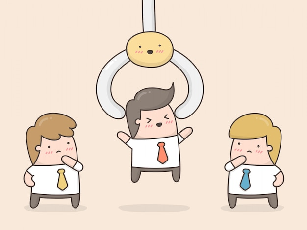 Choosing the best employee.