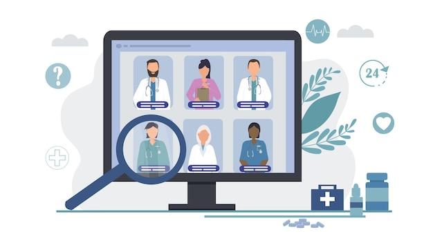 Choosing a doctor online