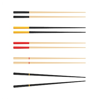 Chopsticks holding sushi roll. concept of snack, sushi, exotic nutrition, sushi restaurant. isolated