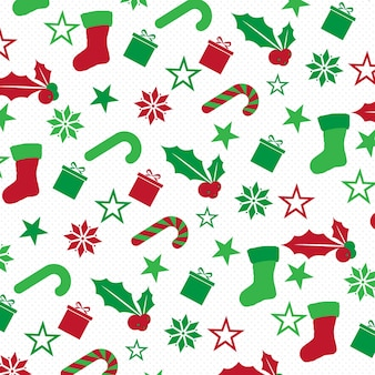 Chrismas pattern  background desgin
