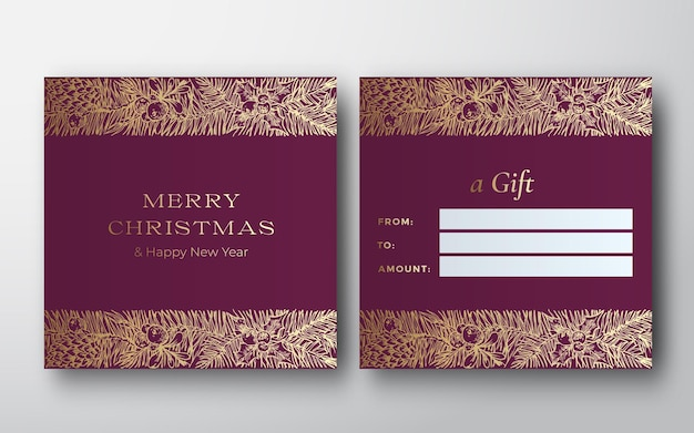 クリスマスの抽象的なcardsketch装飾