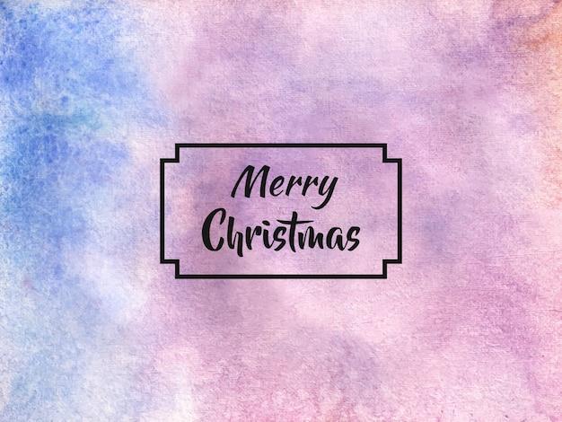 クリスマスの抽象的な水彩背景テクスチャ