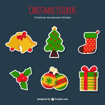 Christmas accessories stickers