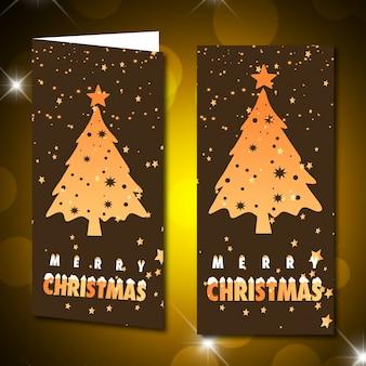 Рождественский и новогодний банер с рождеством