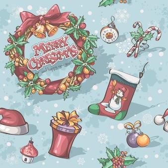 クリスマスと年末年始