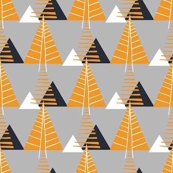 クリスマスと新年のパターン